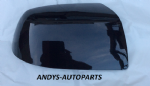 FORD FIESTA 05-08 WING MIRROR COVER LH OR RH SIDE IN PANTHER BLACK